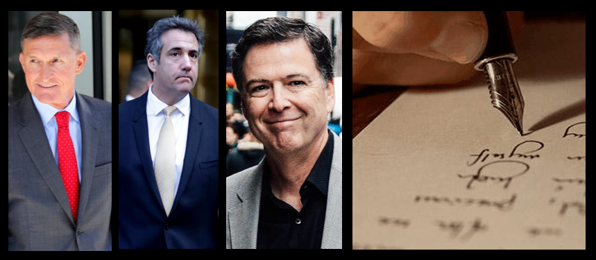 MIKE & MIKE:   if you had to take one… Cohen, Flynn or Comey in your fighting hole?   Cool emails from listeners about Post-Traumatic Winning