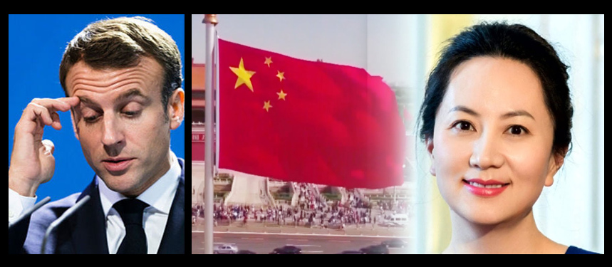 "GRANT NEWSHAM:  Macron and his globalist agenda is in deep trouble & does the arrest of Huawei's CFO mean we're ""wising up"" to China?"