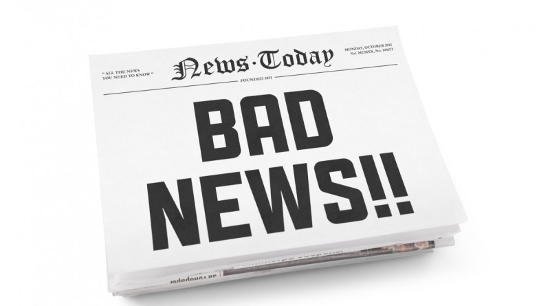 NEWS & COMMENTARY:  nothing good in the news… it's all bad.  So shut it off