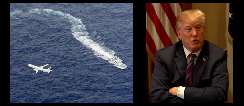 NEWS & COMMENTARY:  searching for black boxes off the coast of Japan & the US leaving Syria?  WTF!