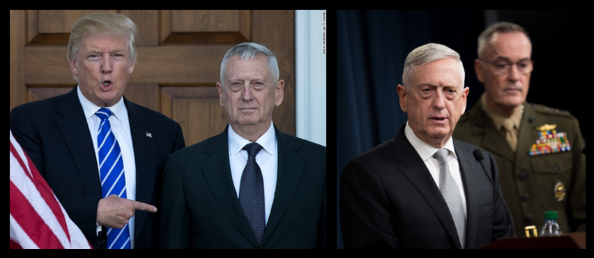 NEWS & COMMENTARY:  Secretary Mattis resigns & who's advising a reckless President?