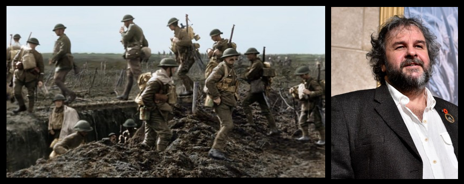 "NEWS & COMMENTARY:  Peter Jackson's documentary ""They Shall Not Grow Old"" is eye opening and worthy of your time — GO!"