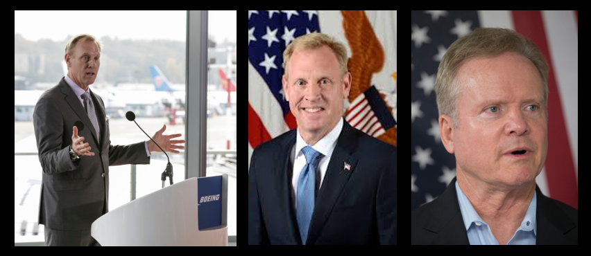 """NEWS & COMMENTARY:  """"acting"""" SECDEF Patrick Shanahan, he's not a """"yes or no"""" guy… he's a make it work guy.  Would James Webb work for Trump?"""