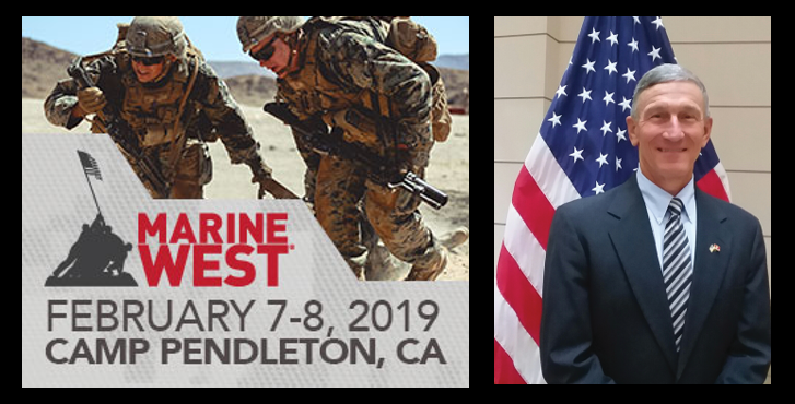 MARINE WEST EXPO AT CAMP PENDLETON IS COMING:  MajGen Mike Regner, USMC (ret)