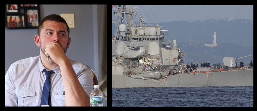NAVY TIMES REPORTER GEOFF ZIEZULEWICZ:  Rear Admiral Brian Fort's USS Fitzgerald investigation is jaw dropping