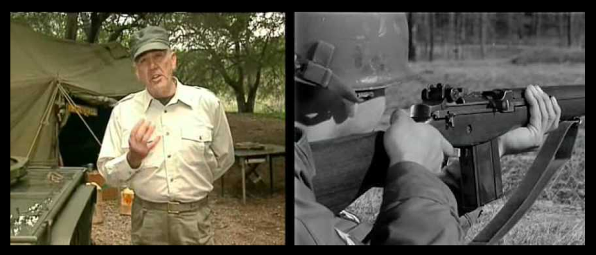 "MAIL CALL TRIBUTE:  R.  Lee Ermey and the ""Twenty-One Gun Salute"" & ""M14 vs M16"""