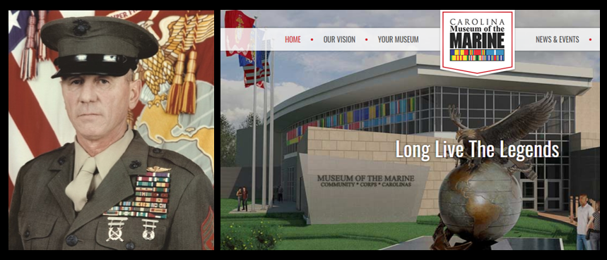 A CAREER & THE CAROLINA MUSEUM OF THE MARINE:  SgtMaj Joe Houle, USMC (ret)