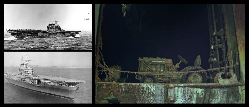 NEWS & COMMENTARY:  the pictures of the USS Hornet are amazing