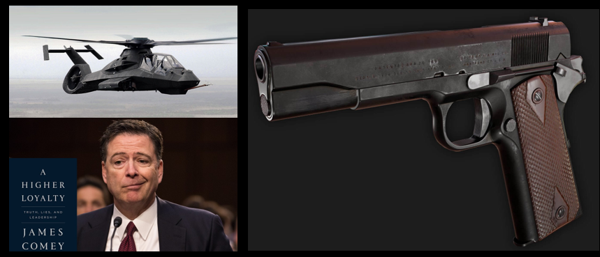 LYNCH-KENNEY ROUNDTABLE:  the black helicopter flies… the deep state… and our favorite personal favorite firearm