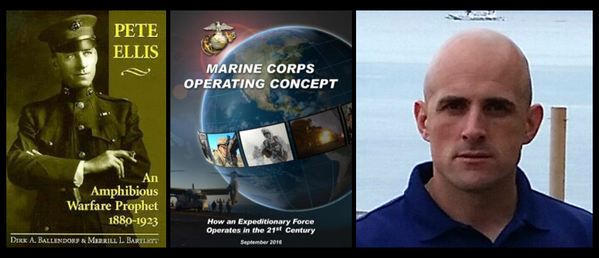 NOT YET OPENLY AT WAR, BUT STILL MOSTLY AT PEACE – the future of the Marine Corps:  LtCol Scott Cuomo, USMC (Part 1)