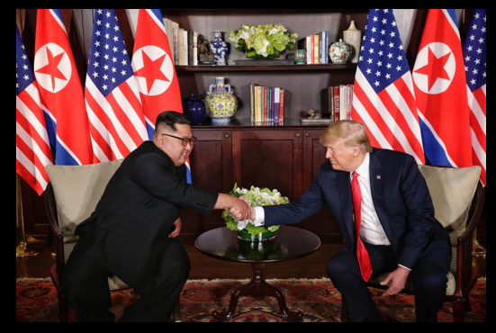 NEWS & COMMENTARY:  Trump – Kim talks implode.  Good