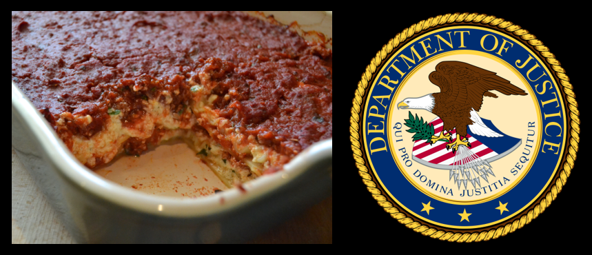 """MIKE & MIKE:  lasagna secrets & in 2018 the DOJ released a 9 year study on """"recidivism"""" of 68,000 inmates — 83% reoffended"""