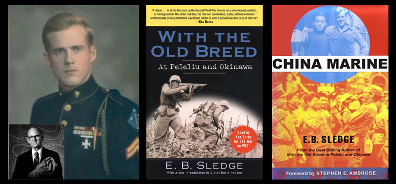 NEWS & COMMENTARY:  Eugene B. Sledge wrote a second book, I'm enjoying getting to know him better #posttraumaticwinning