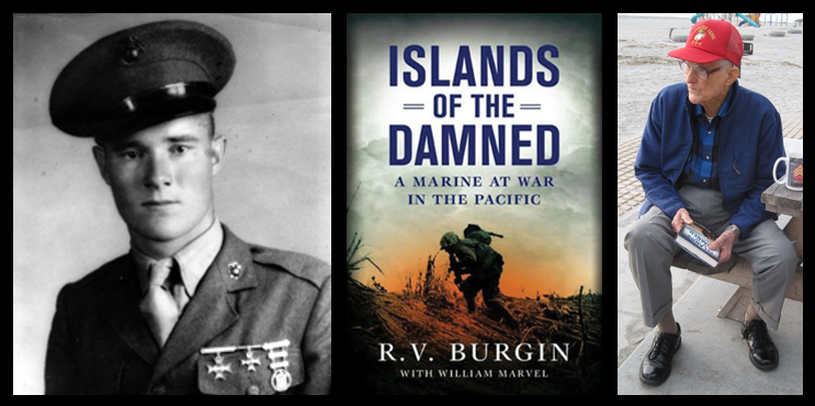 IN HIS OWN WORDS:  Sgt R.V. Burgin, USMC talks about his experiences at Cape Gloucester, Peleliu & Okinawa