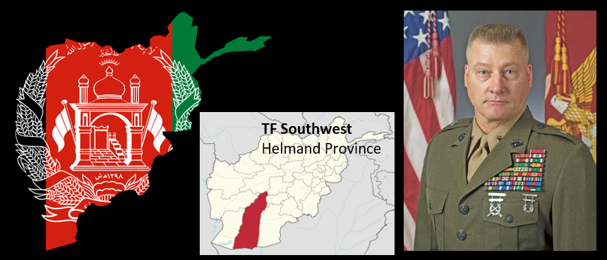 NEWS & COMMENTARY:  hear TF Southwest's Commanding General, BGen Dale Alford, from Afghanistan on Monday