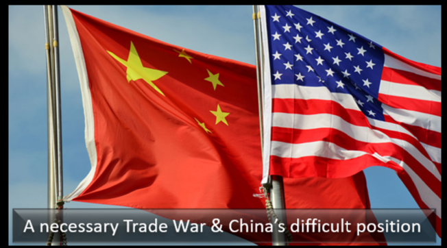 GRANT NEWSHAM:  the trade dispute with China is a necessary thing — Bush, Obama shrunk from the task but it has to happen