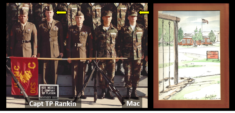 NEWS & COMMENTARY:  my OCS Platoon Commander (Capt T.P. Rankin) changed my life… when he puked on a run and kept going