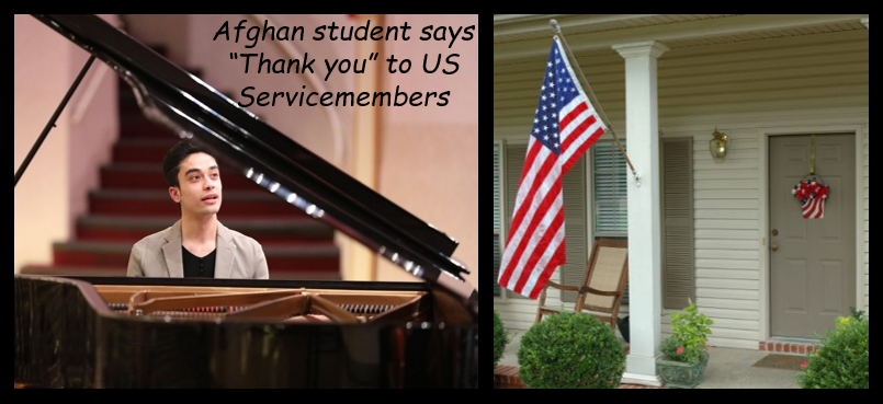 NEWS & COMMENTARY:  fewer flags flying on Memorial Day is a problem & a wonderful letter to Afghan War vets from an Afghan student!