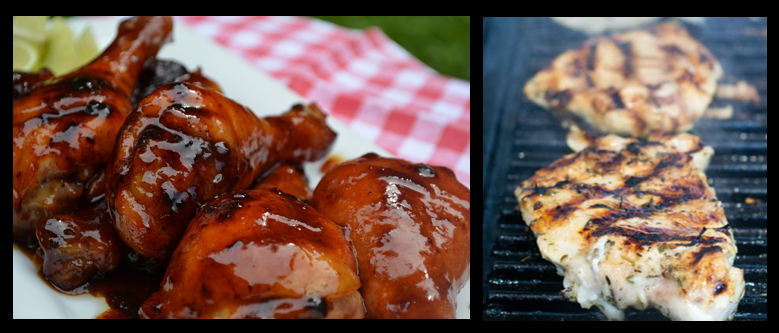 THE CHEF SEZ:  summer is the season for great grilled chicken!