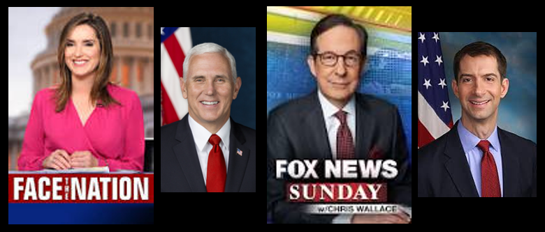"COLOR ""COMMENTARY"" ON SUNDAY'S TALK SHOWS (we LOVE this!!!)"