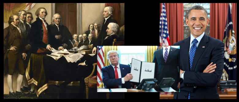 NEWS & COMMENTARY: the curious American reality of treaties, signatures and ratification — the US ratifies nothing!  So what do they mean?