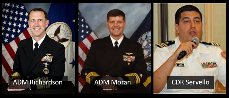 """NEWS & COMMENTARY: """"CNO to be"""" ADM Moran """"retires"""" after"""