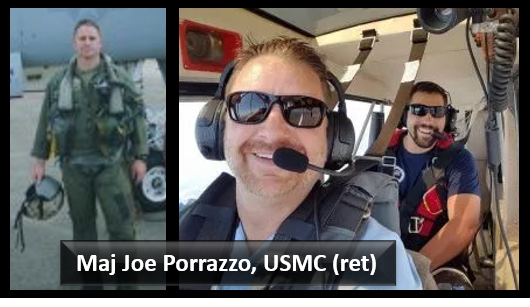 NEWS: former USMC FA-18 pilot Joe Porrazzo joins AMR today to explain elements of the FA-18D/KC-130J mid-air collision investigation