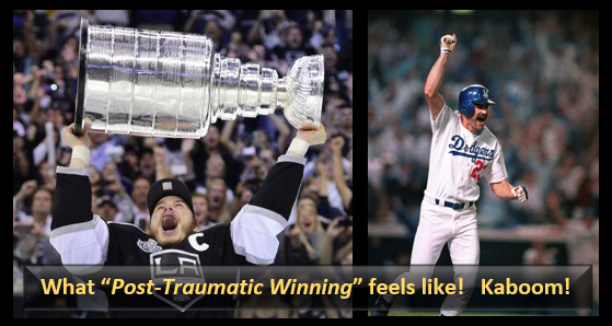 THIS PAST FRIDAY WAS INCREDIBLE:  why Post-Traumatic Winning is such a cool thing