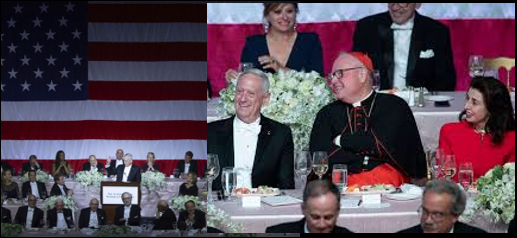 "NEWS & COMMENTARY:  Mattis's entire speech kills it at the Alfred E. Smith annual dinner — ""cynicism (political type) is cowardice"""