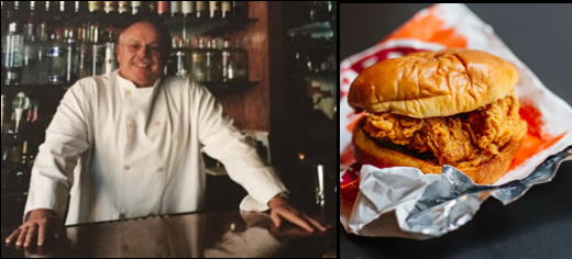 THE CHEF SEZ:  spicy chicken sandwiches are the rage — can you make one your own?  Ours is from Alabama!