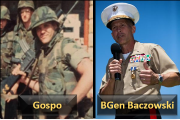 "REMEMBERING BEIRUT WITH MARINE THAT WERE THERE:  LCpl Matt ""Gospo"" Gospodinovich and 1stLt Ron Baczkowski (later… BGen)"