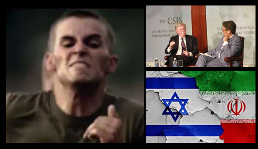"NEWS & COMMENTARY:  a new USMC ""Vision"" video (motto!); Iran's ""second front"" against Israel –&– Bolton's Q&A at CSIS (it's good)"