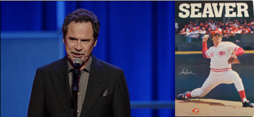THE CHEF SEZ:  Dennis Miller's LIVE endorsement of his restaurant & Tom Seaver after he gave up a home run & spicing up condiments!