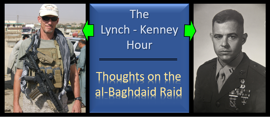 LYNCH & KENNEY:  thoughts on the al-Baghdadi Raid