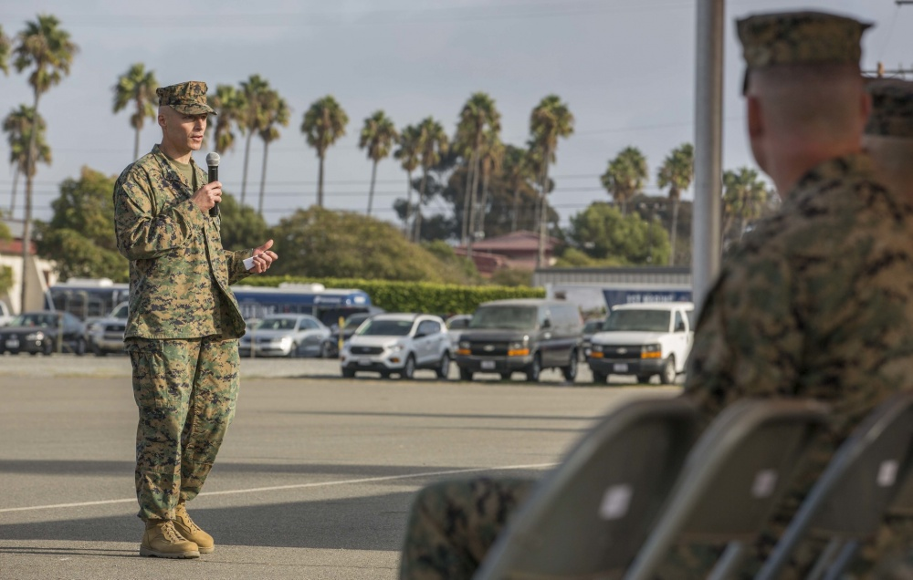 NEWS & COMMENTARY:  Colonel Chris Bronzi assumes command of the 15th MEU & in the company of Our Tribe… #awesome