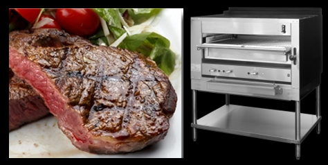 THE CHEF SEZ:  great Elk Ribeyes &  high-end steakhouses cook their steaks at 1500 degrees fahrenheit!