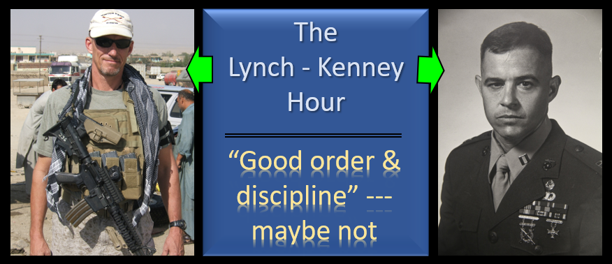 LYNCH & KENNEY:  what in the world is going on with the UCMJ?  Good order and discipline… not so much