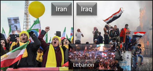 "NEWS & COMMENTARY:  what going on in Iran, Iraq & Lebanon?  We'll listen to their voices  –&–  We'll talk about ""quitting"" too"