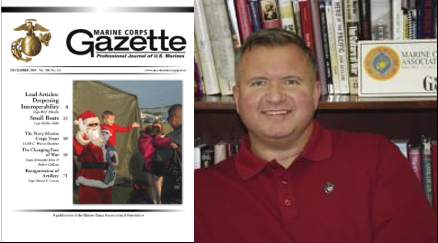 "MARINE CORPS GAZETTE HOUR:  General Berger's ""Force Design"" and the inexact endeavor of predicting the ""future"" — Chris Woodbridge"
