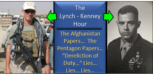 "LYNCH & KENNEY: The ""Afghanistan Papers"" shouldn't shock you — Vietnam/McNamara/ Pentagon Papers – Afghanistan/Iraq/Rumsfeld"