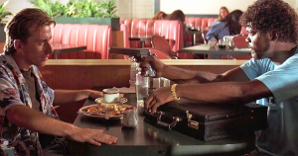 "THE CHEF SEZ:  is Samuel L. Jackson's ""Diner Scene"" in Pulp Fiction the greatest scene ever?  THE CHEF IS BACK!"