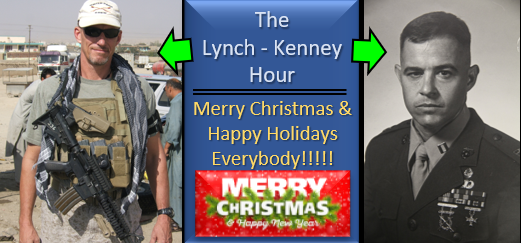 "LYNCH & KENNEY: thoughts on impeachment and if ""the tone in DC"" can ever change? & World War II talk and Tim couldn't have a G.I. Joe!"