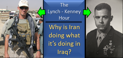 "LYNCH & KENNEY:  Iranian choreography as it rockets and demonstrates in Iraq — trying to provoke ""the Great Satan"" & distract protesters in Iraq and Iran"