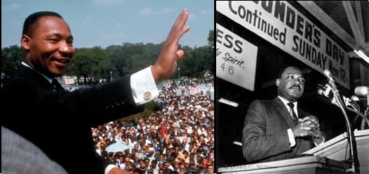 The words of Reverend Dr. Martin Luther King Jr.  —  the greatest speechmaker in the nation's history