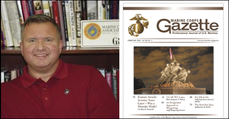 IRAN, IRAQ & THE MARINE CORPS GAZETTE HOUR:  Col Chris Woodbridge, USMC (ret)