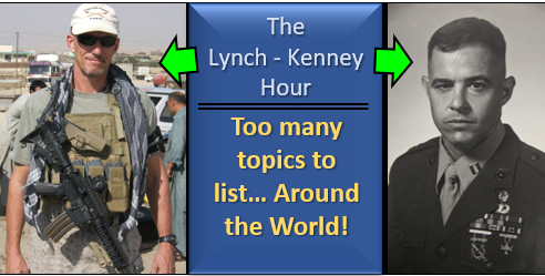 "LYNCH & KENNEY:  Where do you go for foreign news?  Who is the new leader of Iran's ""Kuds"" Force?  And a boat-load of other topics!"