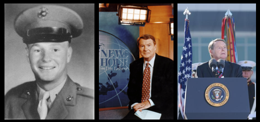 NEWS & COMMENTARY:  shaving kits, dog sitters & we salute Jim Lehrer on his passing — a national treasure as a journalist and as a Marine
