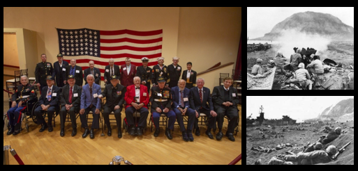 CAMP PENDLETON GROUP TO HOST ITS FINAL REUNION OF IWO JIMA VETERANS ON THE BATTLE'S 75TH ANNIVERSARY:  LtCol Larry Rannals, USMC (ret)