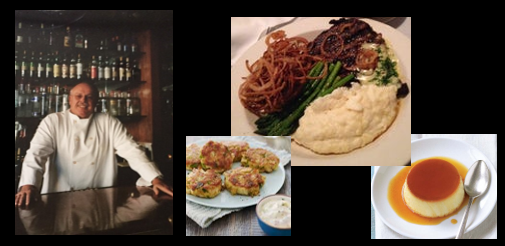 THE CHEF SEZ:  Kim talks about his all-time favorite appitizer, entree & dessert from his restaurant — Sanders 1907