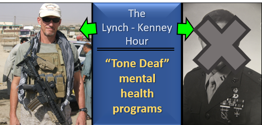 "LYNCH & MAC:  the disconnect between PhD's who run mental health programs and the ""Blue Collar"" people who use them"